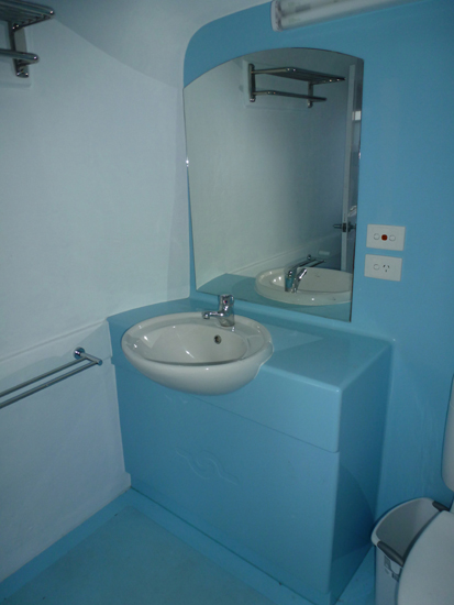 Portable Bathroom with Shower and Basin for hire