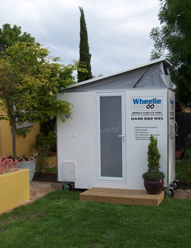 Compact Mobile Ensuite for Hire Melbourne