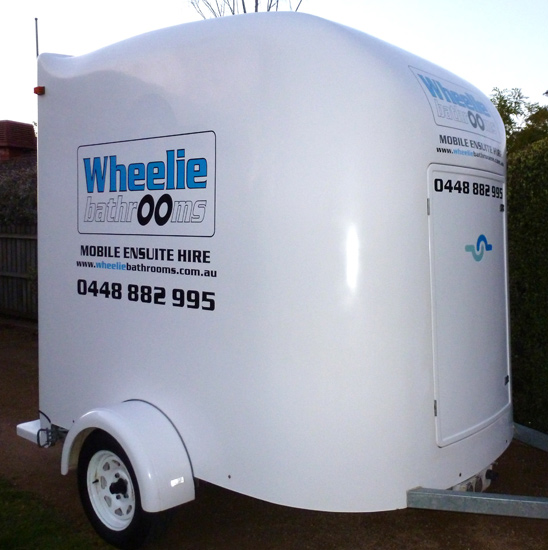 Portable Bathroom Ensuite with Shower and toilet for hire Melbourne